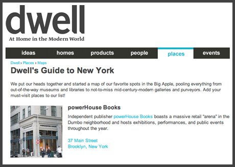 Dwell Guide to NY