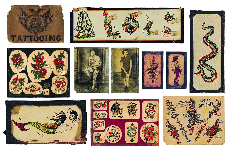 Vintage Tattoos Designs 103